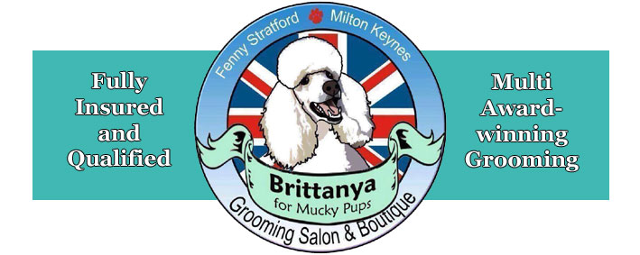 Brittanya Pet Grooming Salon logo